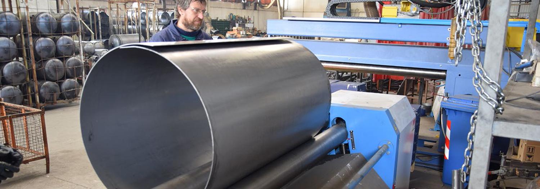 calandratura, azienda metalmeccanica, riscaldamento, condizionamento