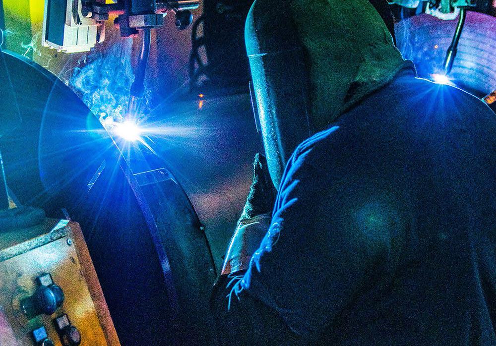 saldatura, azienda metalmeccanica, riscaldamento, condizionamento